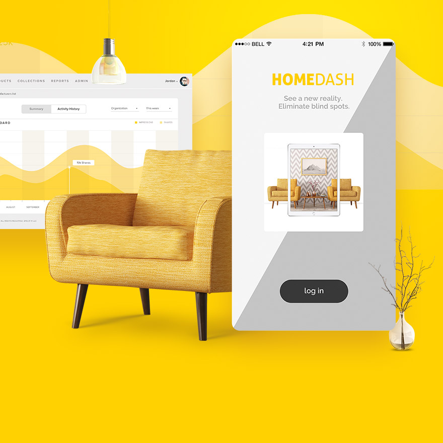 Homedash — Augmented reality app RU